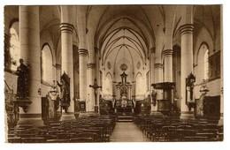 Sombreffe - L'Eglise - Intérieur - 1935 - 2 Scans - Sombreffe