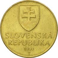 Monnaie, Slovaquie, 10 Koruna, 1993, TTB, Aluminum-Bronze, KM:11 - Slovaquie