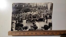 Religione - Vaticano - Funerali Papa Pio XII, Via Fori Imperiali, Roma - Ott. 1958 - Vera Fotografia - Non Classificati