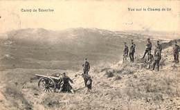 Camp De Beverloo - Vue Sur Le Champ De Tir (animée, Canon, Edit. Ph Mahieu) - Leopoldsburg (Kamp Van Beverloo)