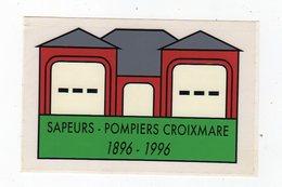 Sept18   82252    Auto Collant   SAPEUR POMPIERS CROIXMARE    BELGIQUE - Stickers
