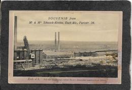 Germany-Souvenier From M & M Schaack/Kreins,Esch/Alz,Parcstr 39, - Antique Postcard - Germany