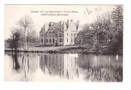 56 Campeneac Chateau De La Ville Aubert Vu De L' Etang - Autres Communes
