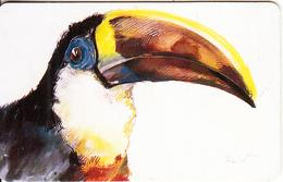 VENEZUELA(chip) - Bird, Toucan, 09/96, Used - Venezuela