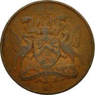 Monnaie, TRINIDAD & TOBAGO, Cent, 1966, Franklin Mint, TTB, Bronze, KM:1 - Trinité & Tobago
