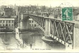 BREST  -- Le Pont National                                   -- Artaud Et Nozais 82 - Brest