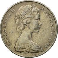 Monnaie, Australie, Elizabeth II, 20 Cents, 1979, TTB, Copper-nickel, KM:66 - Monnaie Décimale (1966-...)