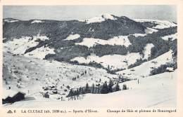 74 - LA CLUSAZ - Sports D'Hiver - Champs De Skis Et Plateau De Beauregard - La Clusaz