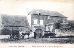 Waterloo-Porte Du Sud De La Ferme D'Hougoumont-Animée - Waterloo