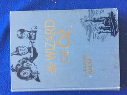 The Wizard Of Oz, By L. Frank Baum, Bobbs-Merrill, 1944, Decorated Boards - Enfants