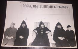 ARMENIAN RELIGIOUS MANS ANTONIO ERMURATIAN ARMENIA CULTURAL FOTO Y FILM CINE - Photos