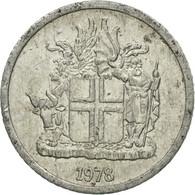 Monnaie, Iceland, Krona, 1978, TTB, Aluminium, KM:23 - Islande