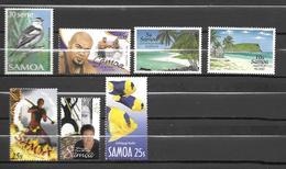 Samoa Scott N°725.1040.866.867.991.1035.1045..neufs** - Samoa
