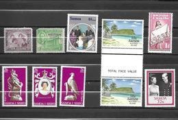 Samoa Scott N°191.192.867.223.472a.b.c.neufs** - Samoa