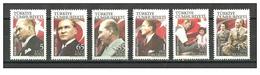 Turkey - 2008 - ( Official Set - Ataturk - Flags ) - MNH (**) - 1921-... República