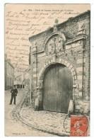 22563     CPA   EU  : Porte De L'ancien Couvent Des Ursulines ! 1910 !! - Eu