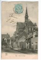 22569   CPA    EU :  Rue Du Collège  !  1905 ! ACHAT DIRECT !! - Eu