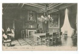 22607 CPA  EU  : Le Château  - Le Petit Salon , ( Vue - Courante !! )   ACHAT DIRECT !! - Eu