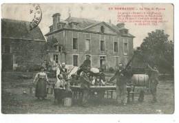 """22623  CPA   En Normandie ; La Fête Du Patron  ! Belle Animation !  Au Grand """" HAMEL """" - Bauernhöfe"""