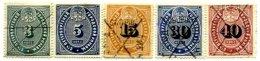 RUSSIA, Municipal Revenues, Used, F/VF - 1857-1916 Empire