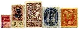 RUSSIA, Municipal Revenues, Used, F/VF - Revenue Stamps
