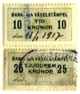 SWEDEN, Foreign Bill, Used, F/VF - Revenue Stamps