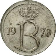 Monnaie, Belgique, 25 Centimes, 1970, Bruxelles, TTB, Copper-nickel, KM:153.1 - 02. 25 Centimes