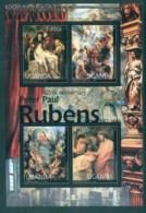 Uganda 2012 Art, Painting, Peter Paul Rubens MS MUH UGN12204a - Uganda (1962-...)