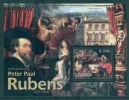 Uganda 2012 Art, Painting, Peter Paul Rubens MS MUH UGN12204b - Uganda (1962-...)
