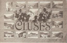 Souvenir De Cluses (Savoie) - Multivues - Edition B.F. Paris - Carte Lux Non Circulée - Souvenir De...