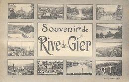 Souvenir De Rive-de-Gier (Loire) - Multivues - Edition B.F. Paris - Souvenir De...