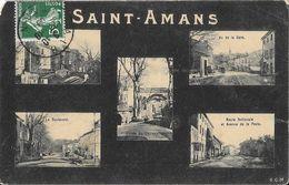 Souvenir De St Saint-Amans - Multivues - Carte G.C.M. - Souvenir De...