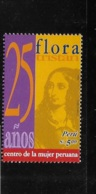 Peru 2004 Flora Tristan Women's Center 25th Anniversary MNH - Peru