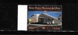 Peru 2011 New National Grand Theater MNH - Peru