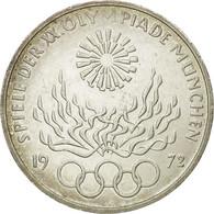 Monnaie, République Fédérale Allemande, 10 Mark, 1972, Stuttgart, TTB - [ 7] 1949-…: BRD