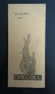 MARQUE PAGES - DRECOLL - LA ROBE - 130 AVENUE DES CHAMPS ELYSÉES PARIS - Perfume & Beauty