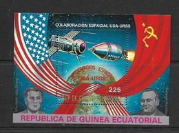 GUINEE EQUATORIALE 1975 APOLLO-SOYOUZ  YVERT N°B NEUF MNH** - Space