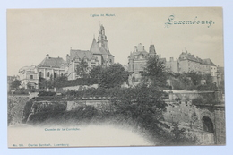 Eglise St. Michel, Chemin De La Corniche, Luxembourg - Postcards