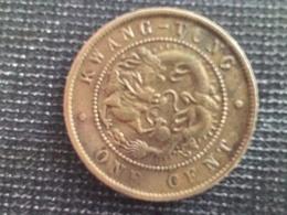 China, Provincial KWANGTUNG PROVINCE Cent KM# B192 (1906). - Chine