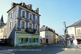 Saint-Martin-d'Auxigny (18)-Place De La Mairie (Edition à Tirage Limité) - Autres Communes