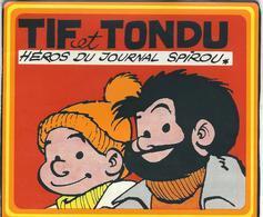 Autocollant TIF ET TONDU - Héros Du Journal Spirou - 1973 - Autocollants