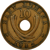 Monnaie, EAST AFRICA, George VI, 10 Cents, 1942, TB+, Bronze, KM:26.2 - British Colony