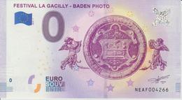 Billet Touristique 0 Euro Souvenir Autriche Festival La Gacilly-Baden Photo 2018-1 N°NEAF004266 - EURO