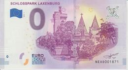 Billet Touristique 0 Euro Souvenir Autriche Schlosspark Laxenburg 2018-1 N°NEAD001871 - EURO