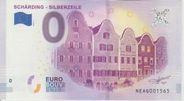 Billet Touristique 0 Euro Souvenir Autriche Scharding Silberzeile 2018-1 N°NEAG001565 - EURO