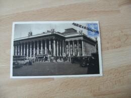 Paris A Boulogne Griffe Marque Lineaire Obliteration De Fortune Sur Lettre - Marcophilie (Lettres)