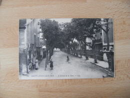 Saint Aubin Sur Mer Coiffeur Vendeur Carte Postale Avenue Gare - Saint Aubin