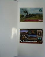 AUSTRALIA - PayTel - $5 & $10- Complimentary Adv- 1997 Collectors Club Membership Card & Locomotive - MINT In Folder - Australia