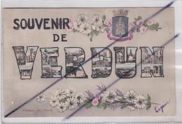 Souvenir De Verdun (55) Carte Fantaisie De 1906 - Verdun