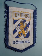 I.F.K. GÖTEBORG ( Zie Foto's ) Wimpel - Pennant ! - Voetbal